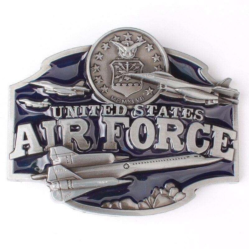 Military Theme Belt Buckle