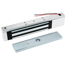 Single Door 12V Electric Magnetic Electromagnetic Lock 180KG (350LB)  Holding Force for Access Control