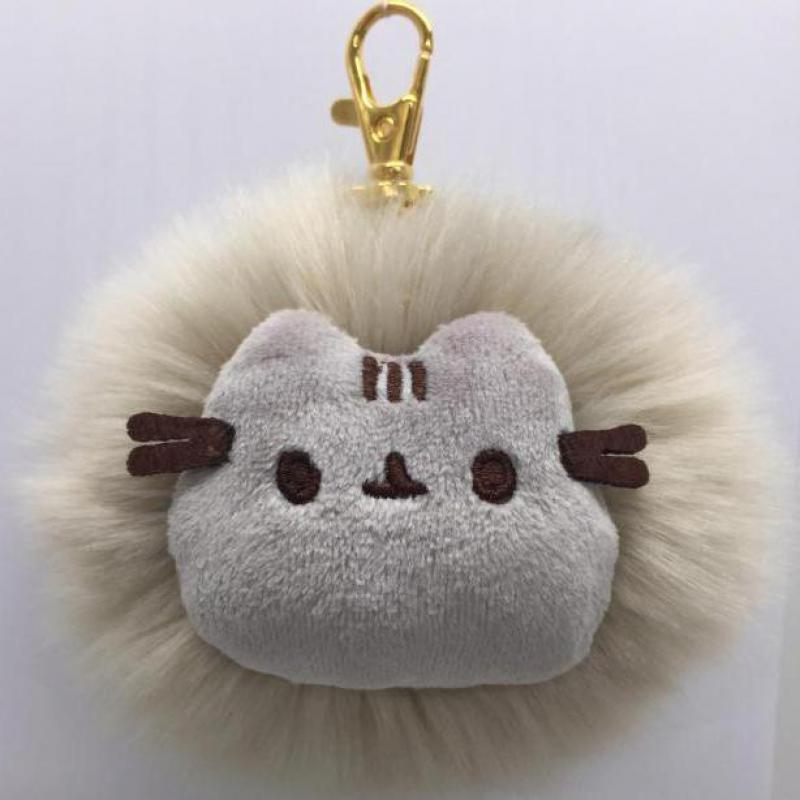 32d60dbd0 2017 Kawaii Brinquedos Pusheen Cat Rabbit Fur Chain Toys Stuffed & Plush  Animals Bag Accessory Soft Toy For Girls-in Movies & TV from Toys & Hobbies  on ...