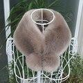 2016 Зима новый Корейский Кожа трава меховой воротник мех Кролика шары ложные воротник шарф женский толстые теплые шарфы