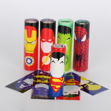 On sale 18650 battery protector skin 331332cnprotected wrapper super hero wrap sticker for vape spider