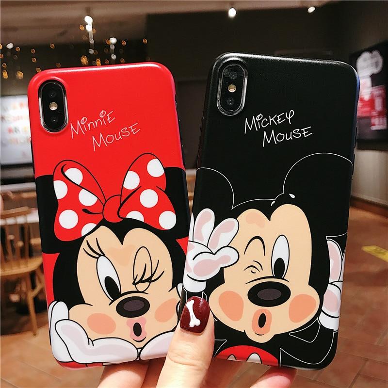 Funda Minnie Mouse - iPhone 6 / 6s / 7 / 7 Plus / 8 / 8 Plus