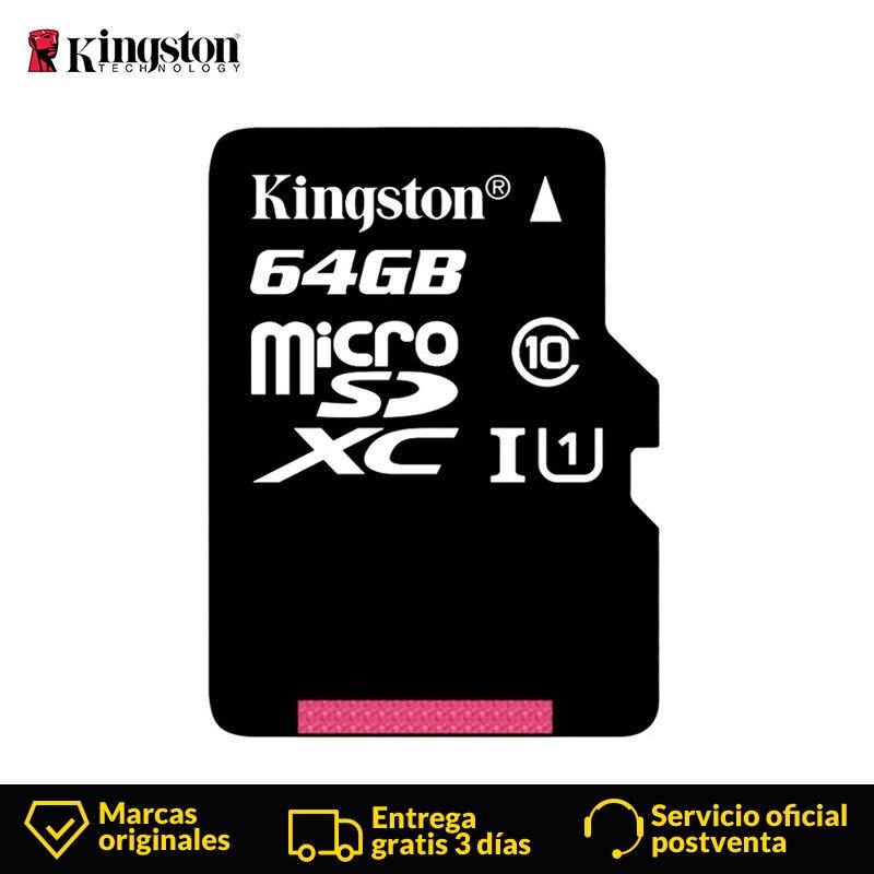 Kingston Technologie Micro sd-karte 64 GB MicroSD Speicher Karte Class10 UHS-1 flash karte MicroSDXC TF/SD Karten für smartphone Tablet