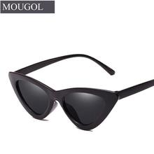 Cat Eye Sunglasses Women 2019 Vintage Sunglases UV400 Black Shades Retro Cateye lunette de soleil femme oculos MOUGOL