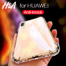 H&A Full Shockproof Clear Silicone Case For Huawei P20 Lite P20 Pro P10 Plus Soft TPU Phone Cover Honor 9 Lite 8 Lite 10 Case(China)
