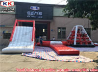 Commercial Grade Jeux gonflables Inflatable Floating Slide Water Game Park For Kids And Adult