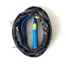 Wp26 WP-26 с воздушным охлаждением аргонодуговая Tig сварочные горелки 4 м газа и кабель Seperated