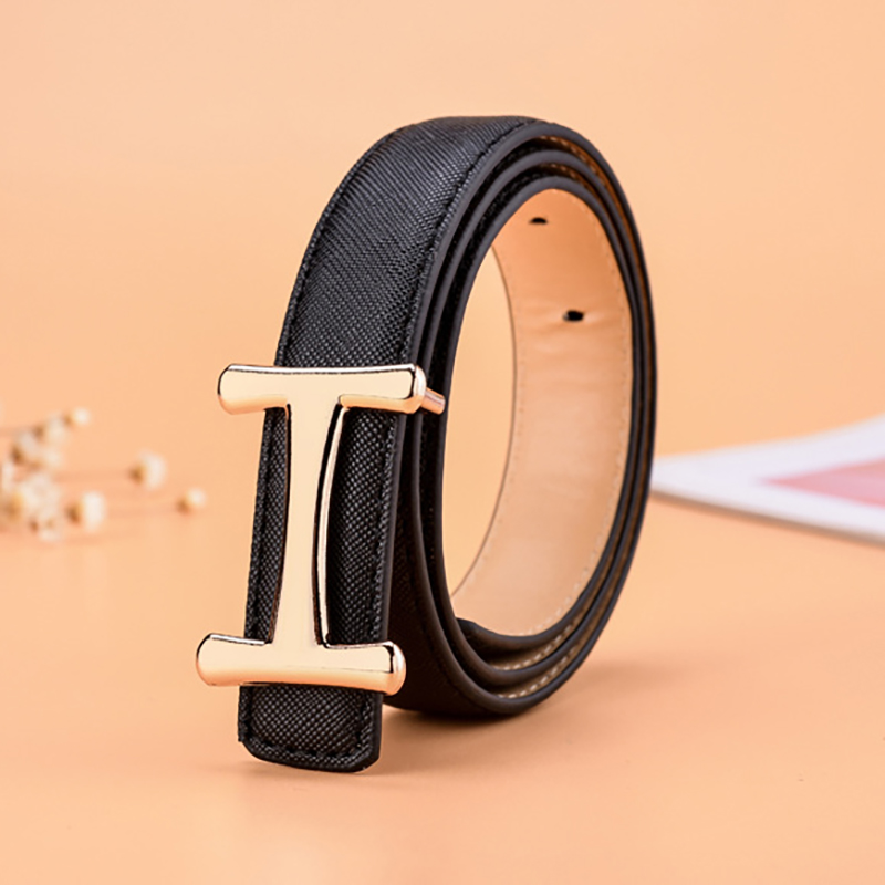 New Luxury Designer H   Belts   for Children High Quality Kids   Belt   Genuine Real Leather H Buckle Strap for Jeans Women
