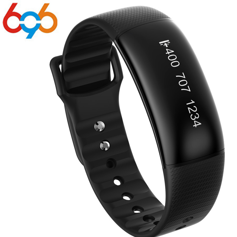 696 A69 Smart Wristbands 24H Automatically Heart Rate Blood Pressure Monitor Pedometer Speed Measurement Activity Tracker Bracel