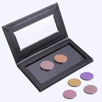 14 5cmx8 2cm Empty Magnetic Eyeshadow Concealer Aluminum Pans With Palette Makeup Tools Cosmetics DIY Box