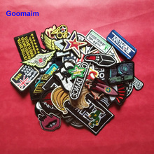 10pcs iron on patches for clothing embroidery costume embroidered applique anchor patch womens