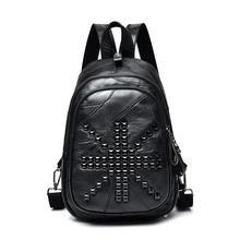 Рюкзак для девочек, кожаный рюкзак сумки для подростков мозаика Дизайн натуральной овчины кожаный рюкзак/кошелек школьный рюкзак
