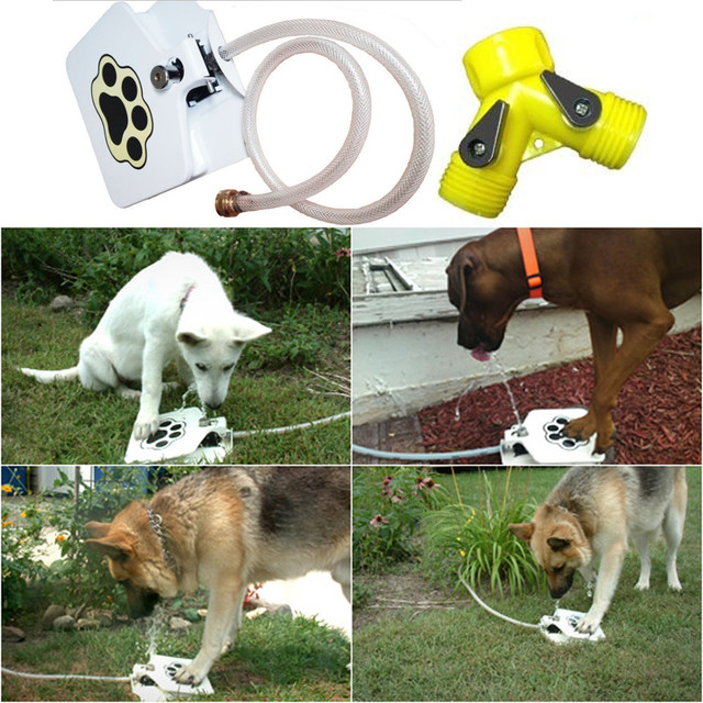 Outdoor Water Fountain for Dogs – Keeps Furry Friends Healthy Happy and Hydrated!