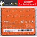 Para xiaomi redmi note 2 bateria 3020 mah 100% novo acessório substituição bateria de acumuladores para hongmi note 2 telefone celular