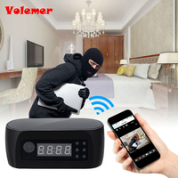 Z16 Wireless Network Electronic Clock WIFI Camera HD 1080P IP P2P Cam Baby Monitor Night Vision