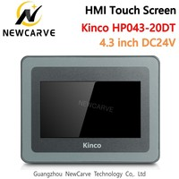 Kinco HP043 20DT PLC Programmable Controller HMI Touch Screen 4.3 Inch Human Machine Interface Newcarve|CNC Controller| |  -