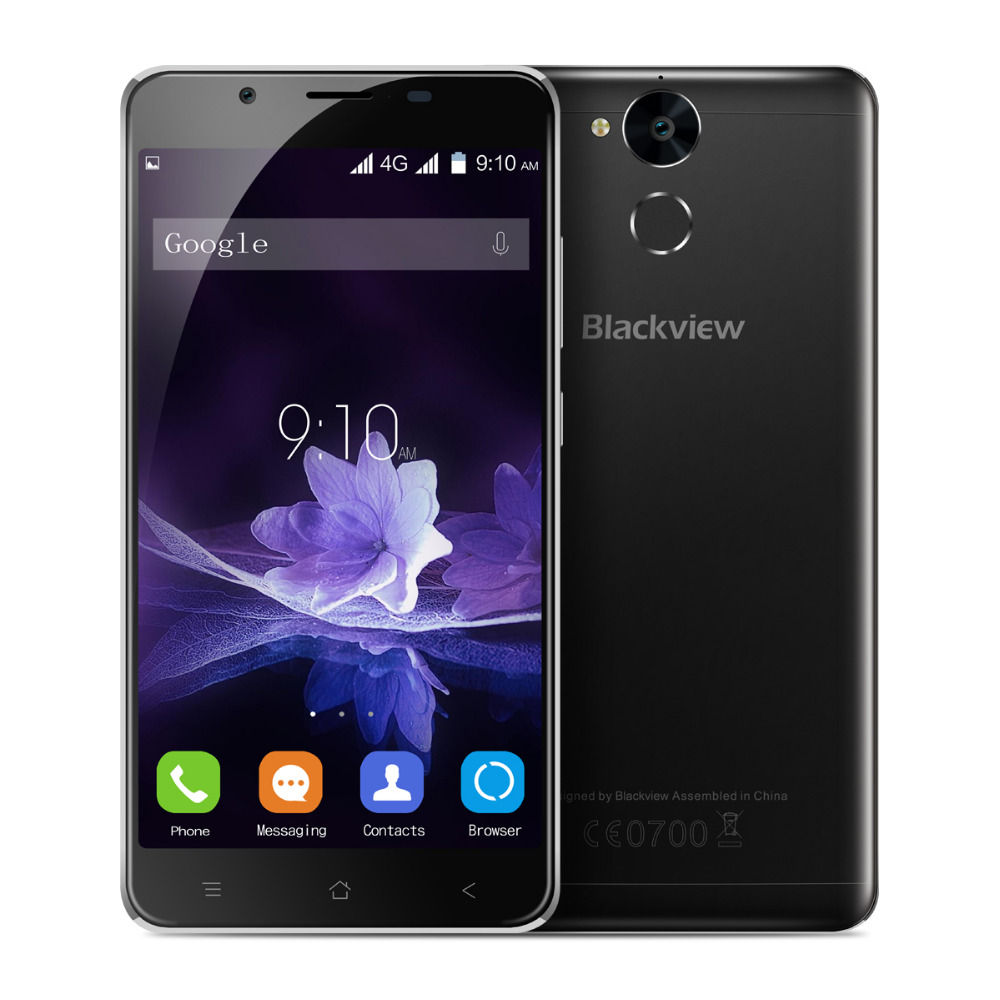 Blackview P2 4G LTE Mobile Phone 5 5Inch MTK6750 Octa Core 4GB RAM 64GB ROM Fingerprint