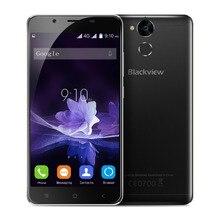 Blackview P2 4G LTE Mobile Téléphone 5.5 Pouces MTK6750 Octa Core 4 GB RAM 64 GB ROM D'empreintes Digitales Débloqué 13.0MP + 8.0MP 6000 mAh Smartphone