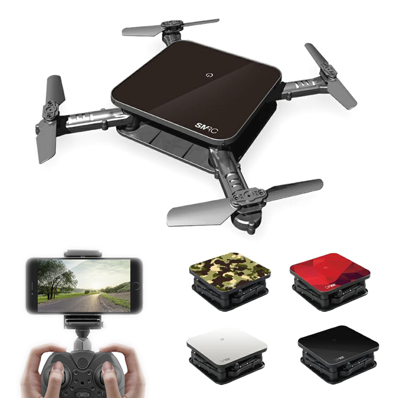 SMRC S1 Mini Rc Drones With Camera HD Camera 720P 2.0MP Dron WIFI Quadrocopter Foldable One Key Return FPV Quadcopter Helicopter