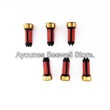 200pcs/set high quality  14*6*3mm Fuel injector  micro  filter MMC Galant 6a13 (AY-F108B)  MD619962