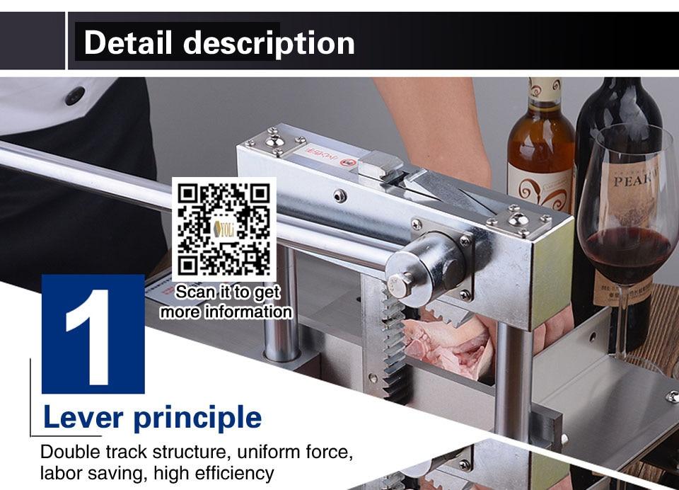 Ribs cutting machine 4