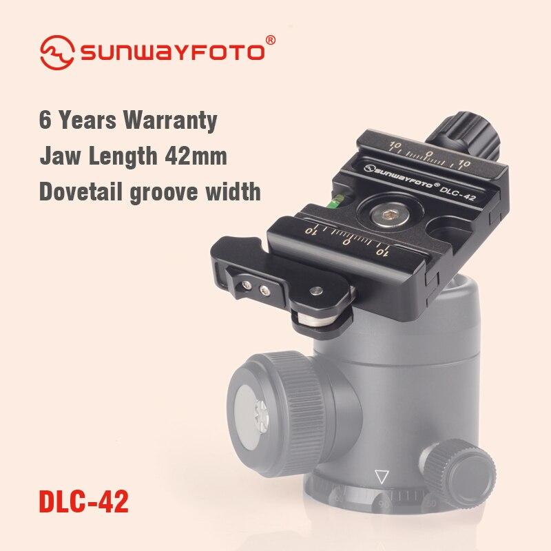 SUNWAYFOTO Duo-зажимной рычаг DLC-42 совместим со всеми Arca-Swiss