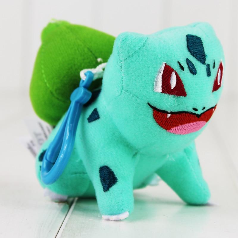 9 ~ 11cm Kawaii Anime Mew Piplup Squirtle Bulbasaur Eevee Pelush - Lodra prej pelushi - Foto 4