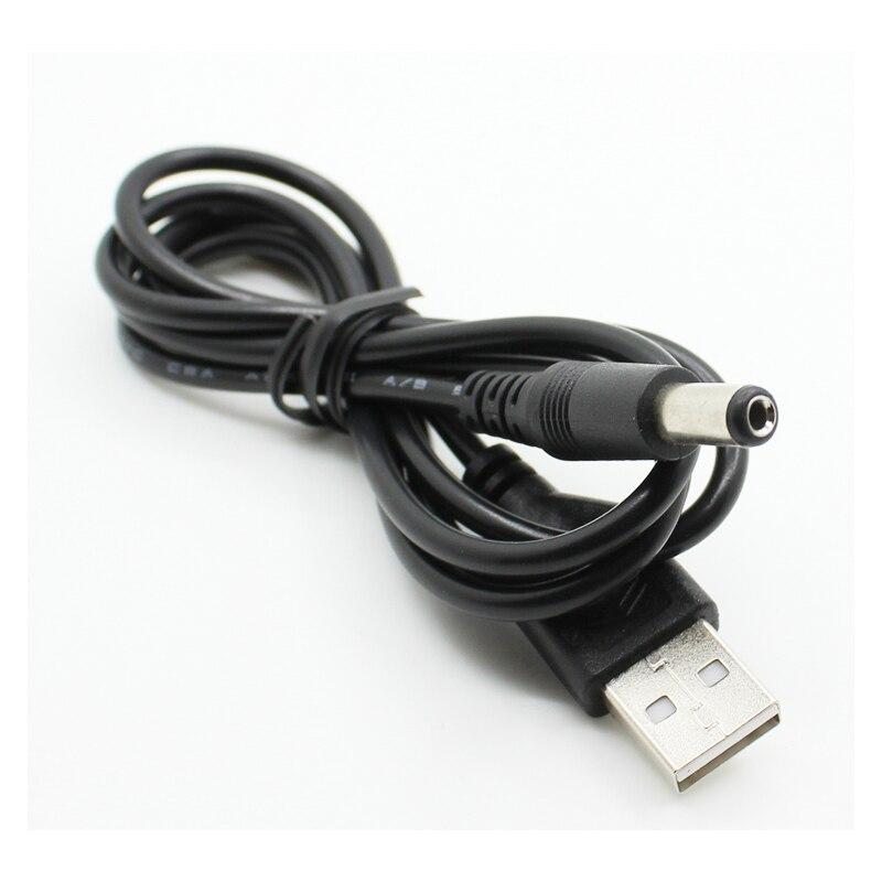 ПК ноутбук USB папа к 5 В DC 5,5 мм x 2,1 мм баррель разъем Кабель питания Шнур|Кабели передачи данных|   | АлиЭкспресс