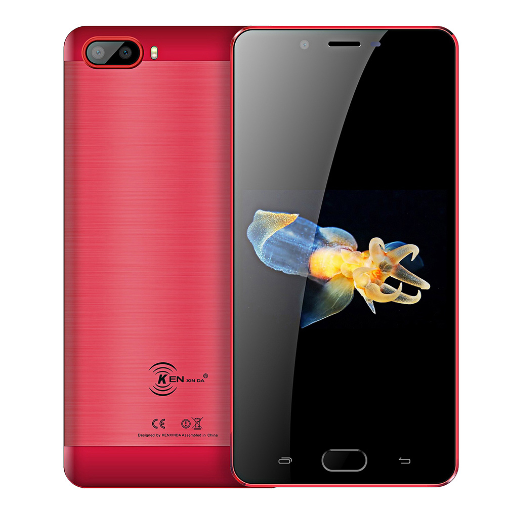 KENXINDA S9 4G Smartphone Phablet 5.5 pouces Android 7.0 MTK6737 Quad Core 1.3 GHz 2 GB RAM 16 GB ROM 13.0MP + 8.0MP caméras téléphone portable