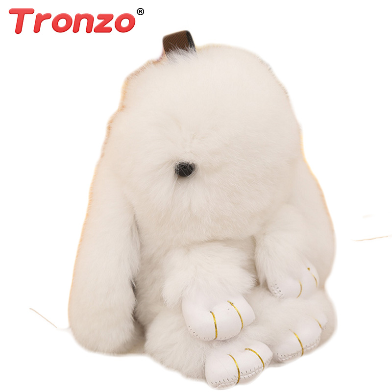 Tronzo 5 Estilo 15 cm Kawaii Mini Conejo Llavero de Felpa Suave de - Peluches y felpa - foto 2