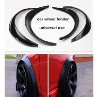 4pcs Car Fender Flares Arch Wheel Eyebrow Protector Widen Size For Universal Useful Accessories