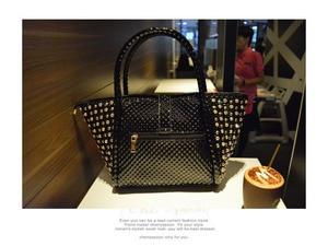 Image 4 - Luxury fashion diamonds Women handbags leather female dumplings shoulder slung bag rhinestone drill lock messenger crossbody bag