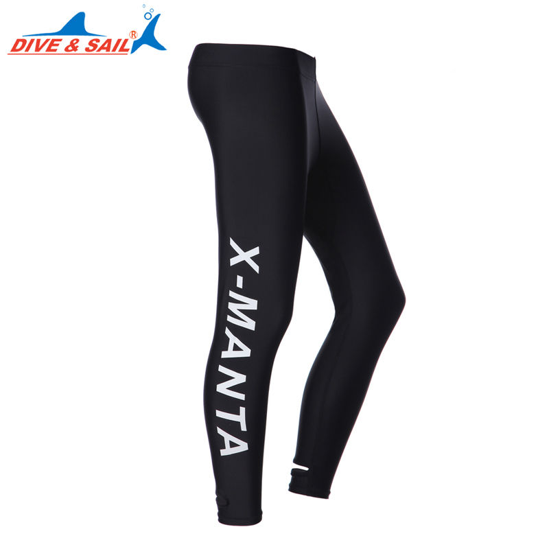 2016 NEW Mens/Womens Lycra Snorkeling Suit Diving Trousers Sports Fitness Yoga Long Pants -015