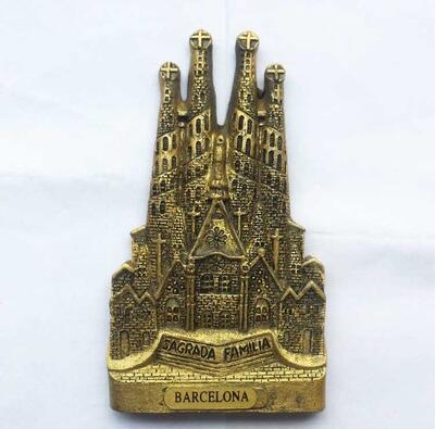 Saragossa I Kühlschrankmagnet,Magnetschild,Souvenir,Reise-Motiv