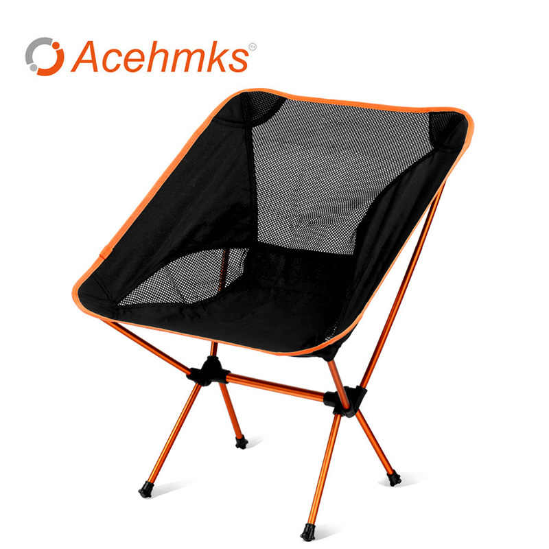 Portable Camping Chair With Carrying Bag Lightweight And
