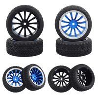 4PCS 1/10 flat run drifting car 94123 cherry CS/D4 tire racing flat ground wear resistant finished tire for RC Car free shipping