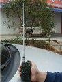 1 m telescópica UHF de dos vías de radio antena SMA antena telescópica para walkie talkie 400-470 M