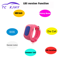 2018 Smart Kids GPS Baby GPS Tracker Compatible Anti Lost Child GPS Tracker SOS Monitoring Positioning Phone IOS Android Display
