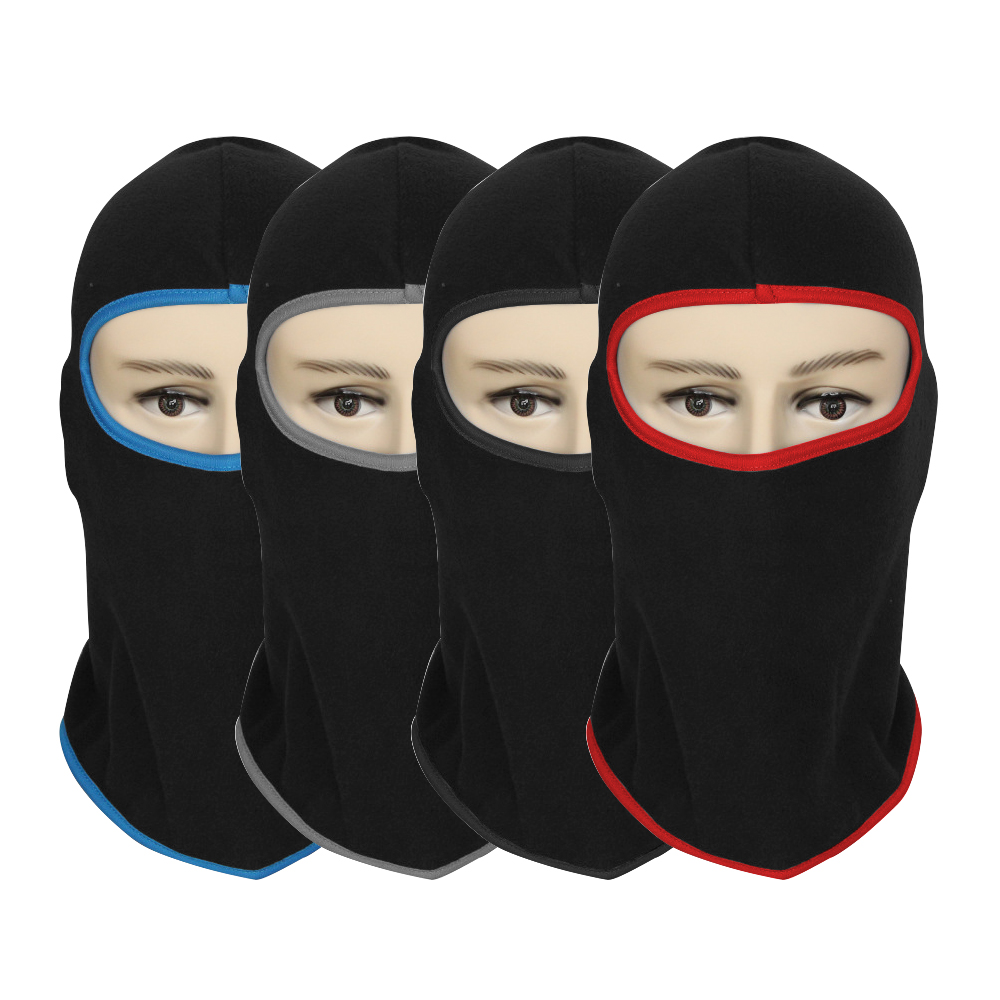 Motorcycle Face Mask Soft Breathable Warm Mask Winter Thermal Fleece Balaclava Hood for Moto Bicycle Cycling Full Face and Neck full face lycra protection balaclava headwear neck cycling motorcycle mask
