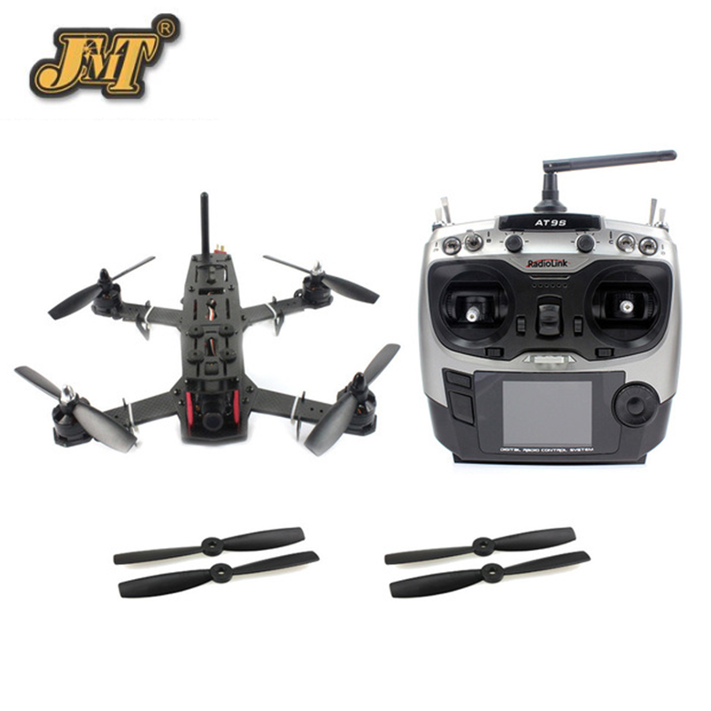 JMT DIY Racer 250 FPV RTF Drone with SP Racing F3 Flight Controller CCD Camera Radiolink AT9S TX&RX No Battery NO FPV Monitor jmt diy racer 250 fpv rtf drone with sp racing f3 flight controller ccd camera radiolink at9s tx