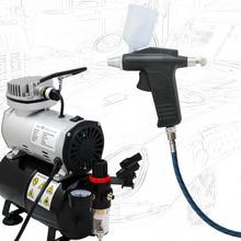 Economy Hi flow Airbrush Kit ABK 115 T Air Compressor Kit Body Paint Temporary Tattoos
