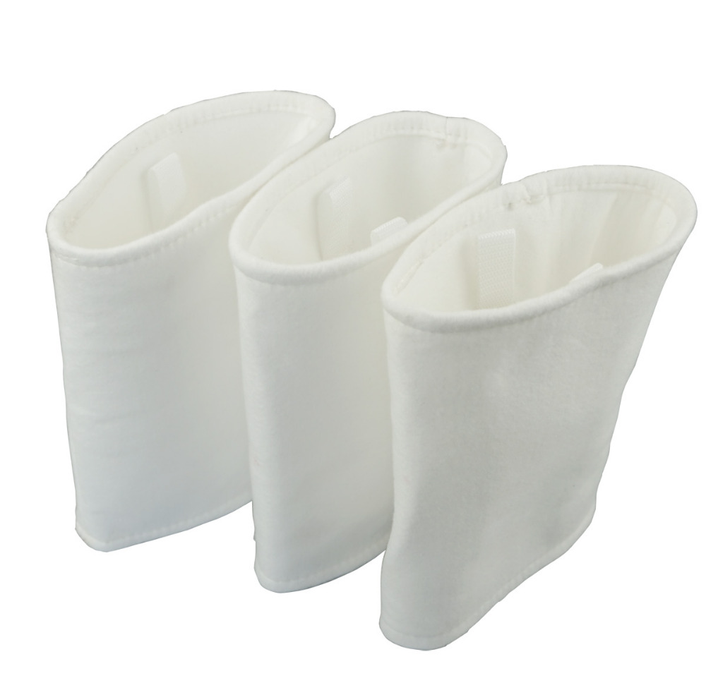 3pcs Fit for L A Spas Aqua Klean hot tub filter bag for Double layer Filter