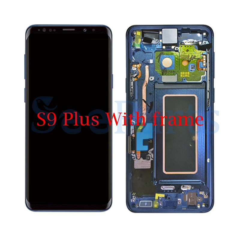 "Image 5 - 5.8""For Samsung GALAXY S9 Lcd s9 plus Display Touch Screen Digitizer Assembly 6.2""For Samsung GALAXY S9 G9600 S9 Plus G9650 lcd-in Mobile Phone LCD Screens from Cellphones & Telecommunications"