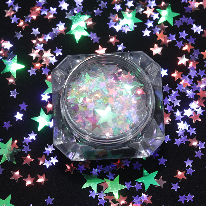 BORN PRETTY 2g Sparkle Nail Sequins Heart Star Round Colorful Paillettes Nail Flakes Nail Decoration Glitter UV Gel Polish ободки pretty mania ободок