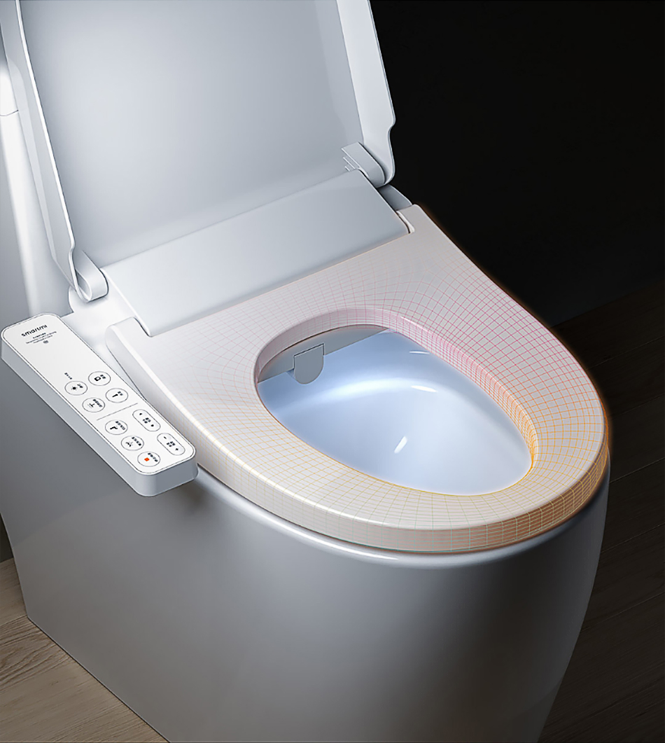 Xiaomi умный чехол для унитаза Электрический биде пакет Прочный умный чехол для унитаза изысканный водостойкий сиденье для унитаза