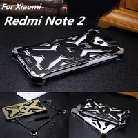 Redmi Note 2 Dropproof Cover Phone Case For Xiaomi Redmi Note 2 Prime Aluminum Front Back