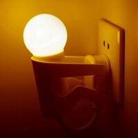 2017 새로운 LED 밤 Lamparas AC 220 볼트 빛 센서 제어 자동 전구 창조적 인 에너
