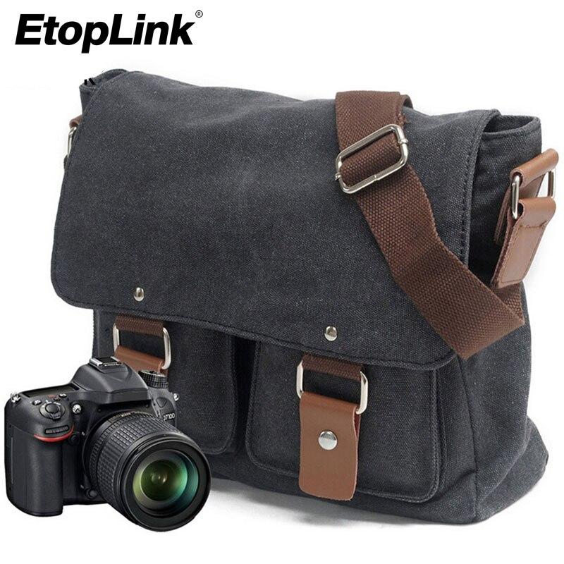 Schoudertas Canon : Aliexpress buy canvas slr camera bag national