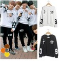 2016 New Rushed Regular None No O-neck Full Bts Bangtan Boys V J-hope Jin Kpop Clothes Jungkook Jacket Hoodie Suga Sweatshirt