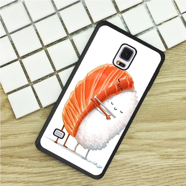 Sushi Je T'aime Amis Tpu Cas Pour La Casemate S4 WogKd